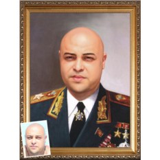 Мужской портрет ко Дню Советской армии