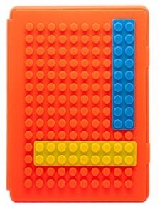 Оранжевый чехол для iPad 3/iPad 4 Конструктор