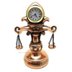 Статуэтка с часами Весы (19 см)