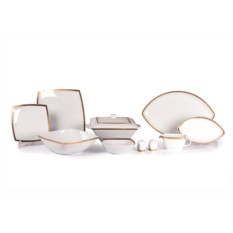 Столовый сервиз на 6 персон SAINT GERMAIN OR KYOTO (золото)