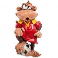 Подарочная фигурка на год обезьяны «Футболист»