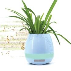 Умный голубой горшок для растений Smart Music Flowerpot