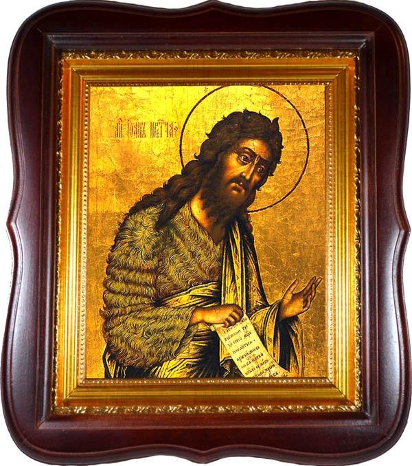 Иоанн Предтеча Пророк и Креститель. Икона на холсте