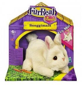 Электронный зверек Белый кролик