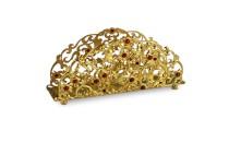Серебряная салфетница Золотая осень