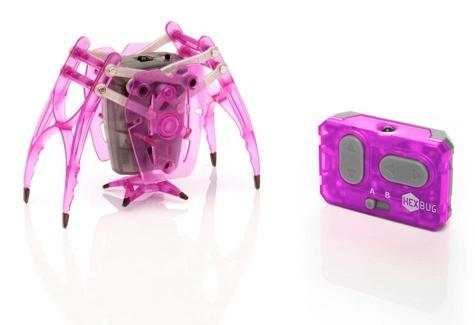 Микроробот Землемер, розовый