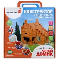 Керамический конструктор из кирпичиков «Летний домик»
