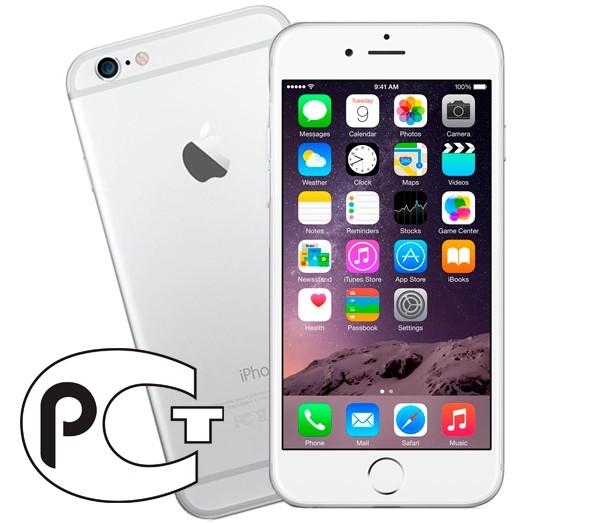 Apple iPhone 6 Plus 64Gb (White&Silver)