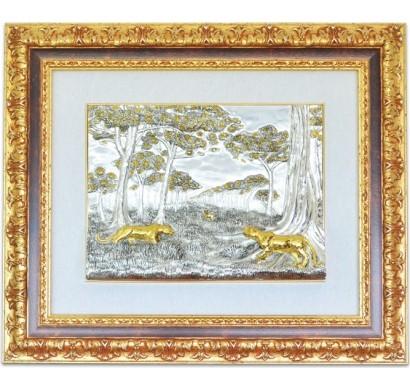 Картина Леопарды на охоте