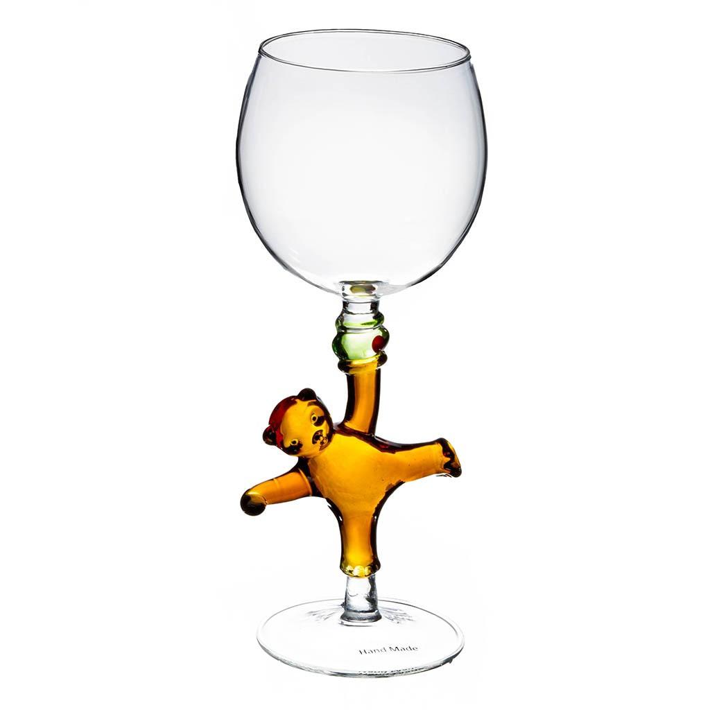 Бокал для вина Мишка