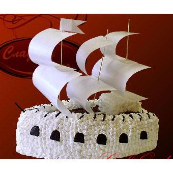 Детский торт Корабль
