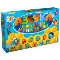 Развивающая игра Ксюша и Андрюша «Азбука»