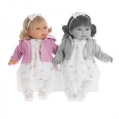 Озвученная кукла Лорена в розовом Munecas Antonio Juan