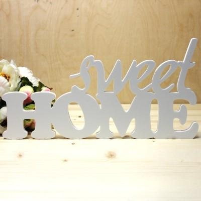 Объемные слова Sweet Home