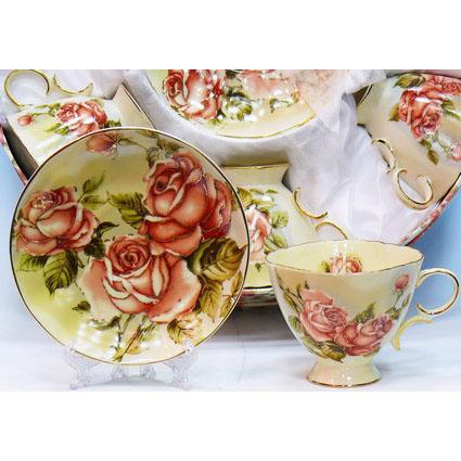 Чайный набор «Три розы»