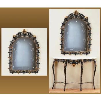 Бронзовое зеркало Король