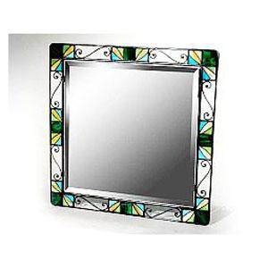 Зеркало с витражем И31-016