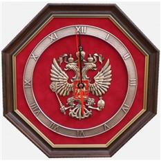 Часы. Эмблема Герб России.