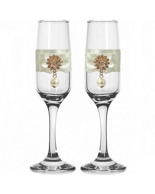 Набор свадебных бокалов №45