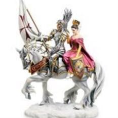 Статуэтка Рыцарь и его дама сердца