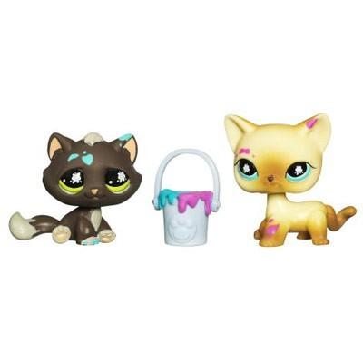 Зверюшки из коллекции А Два котенка