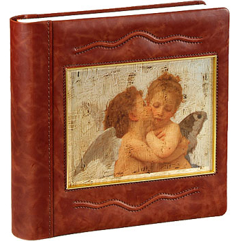 Фотоальбом кожаный «Ангелы»