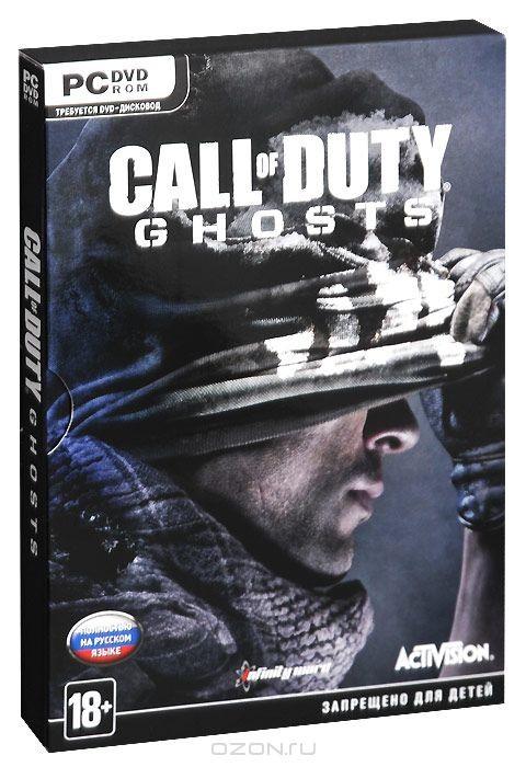 Игра Call of Duty: Ghosts (DVD-BOX)