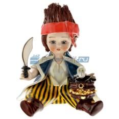 Фарфоровая статуэтка Мальчик Пират от Zampiva