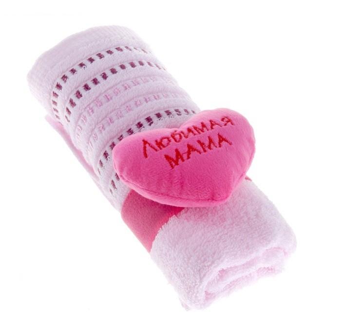 Полотенце-комплимент Для любимой мамы
