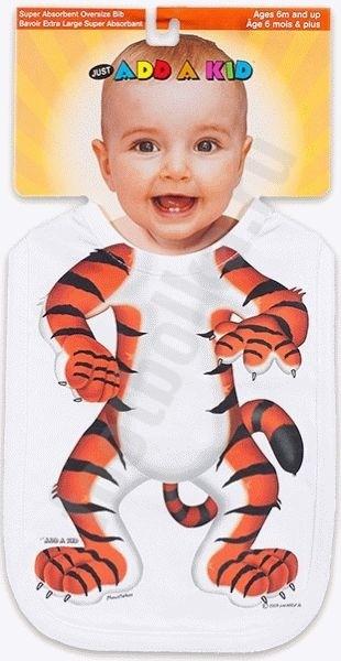 Слюнявчик Тигрёнок