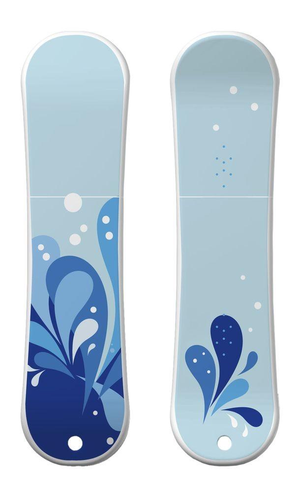 Флешка «Сноуборд», 8 Гб, голубой