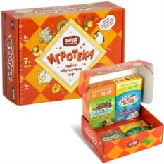 Набор обучающих игр «Игротека» для возраста 7 +