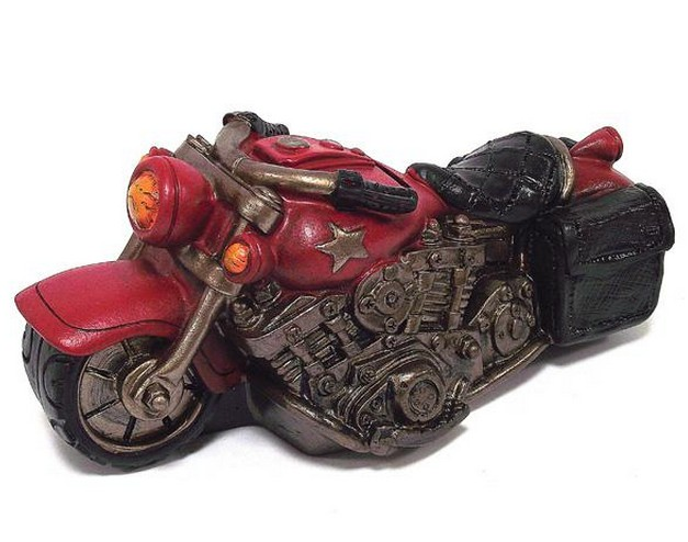 Красная копилка Мотоцикл