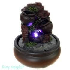 Фонтан со светодиодной подсветкой