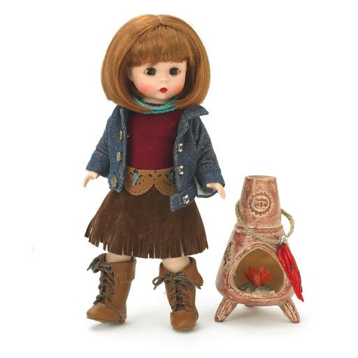 Кукла «Перчинка из Санта Фе»