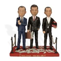 Подарок партнерам по бизнесу Три бизнесмена