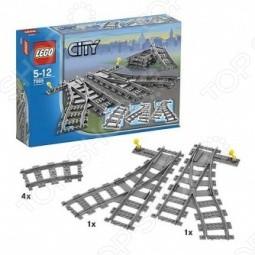 Конструктор - Lego - «Железнодорожные Стрелки»