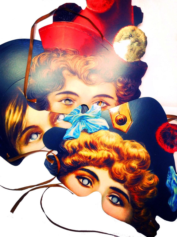 Карнавальные маски Девичник