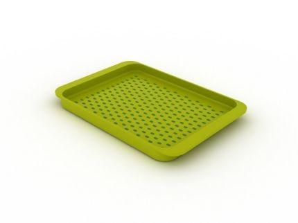 Малый зеленый поднос для сервировки Grip Tray