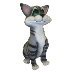 Декоративная садовая фигура Кот