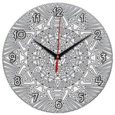 Настенные часы-раскраска «Солнце»