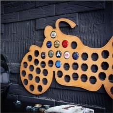Подарочная копилка для пивных крышек Мотоцикл Harley