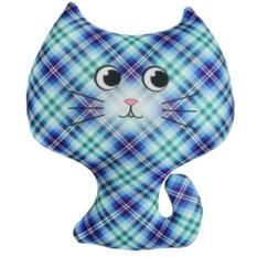 Игрушка-антистресс Котёнок (цвет — синий)