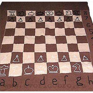 Плед «Шахматы»
