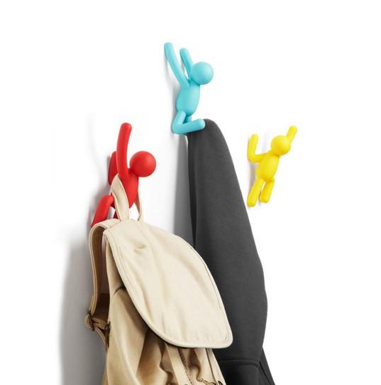 Вешалки-крючки Buddy разноцветные-2