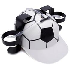 Прикол «Каска пивная Футбол»