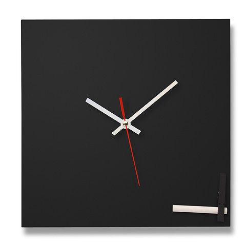Настенные часы ручной работы «Грифельная доска»