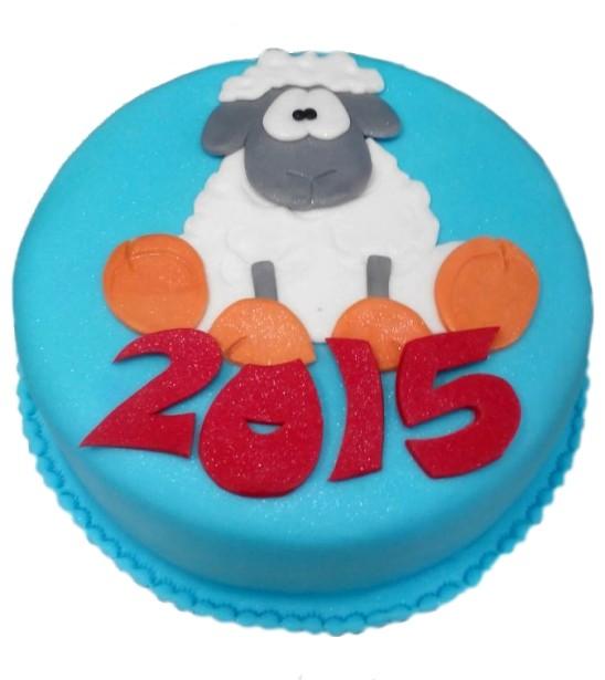 Торт Новогодняя овечка