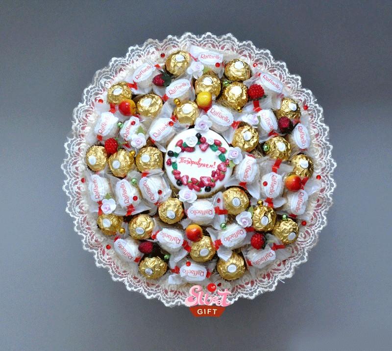 Букет из конфет Сладкие поздравления