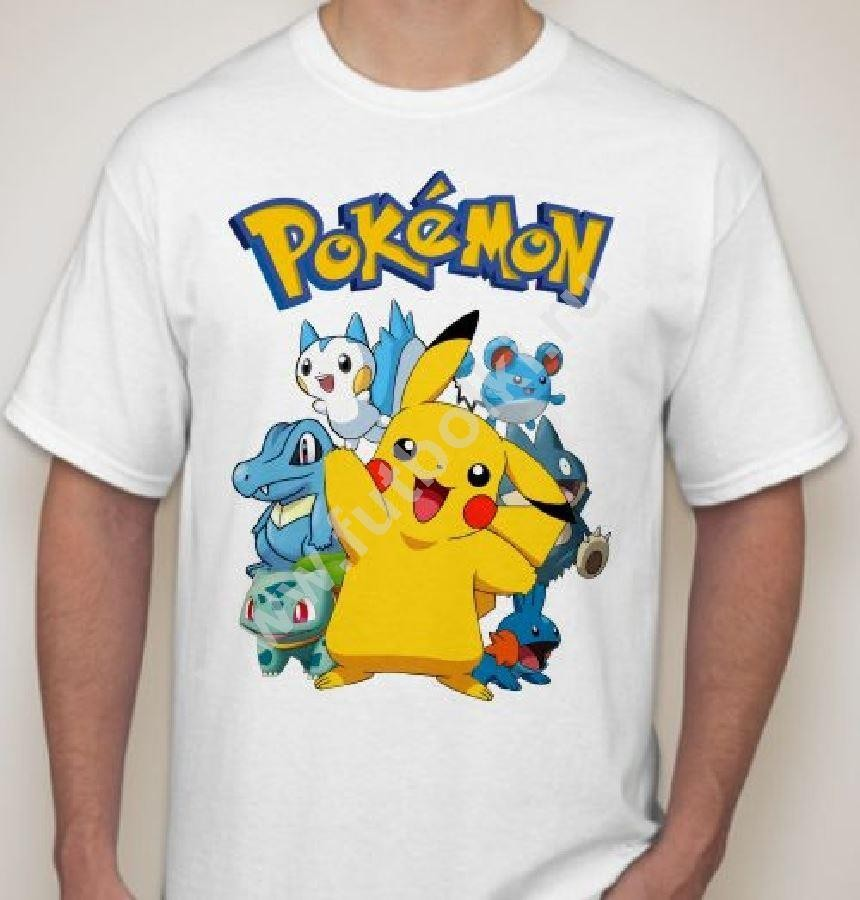 Мужская футболка Покемоны